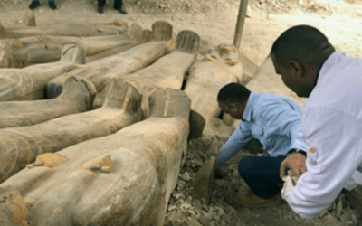 Vast Trove of Sarcophagi Found 'As The Ancient Egyptians Left Them' In Luxor [VIDEO]