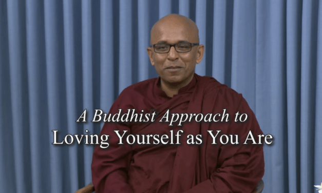 Bhante Sujatha: A Buddhist Approach to Loving Yourself as You Are [VIDEO]